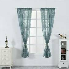 Living Room Curtains Drapes Decoration Blinds Window Covers Peony Flower Printed