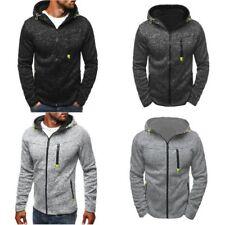 Mode Homme Sweatshirt à capuche Sport Vêtements Fitness  fleece Pullover