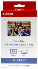 Genuine CANON Photo Printer Ink&Paper Set KC-36IP for SELPHY CP1200 910 900 800