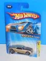 Hot Wheels 2005 First Editions Realistix #014 Bully Goat Champagne w/ PR5s
