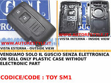 COVER GUSCIO PER CHIAVE ELETTRONICA TELECOMANDO 2 E 3 TASTI TOYOTA PRIUS VERSO
