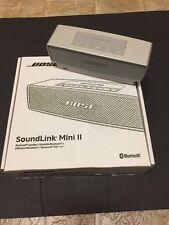 Bose SoundLink Mini II Bluetooth Wireless Speaker, Pearl, New