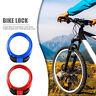 Mountain Bike 4 Digit Password Code Lock Anti-theft Steel Wire Bicycle Safety UK