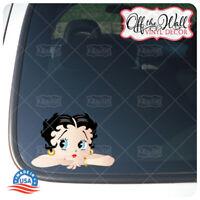 Betty Boop -- Car/Truck Laptop Vinyl Decal Sticker