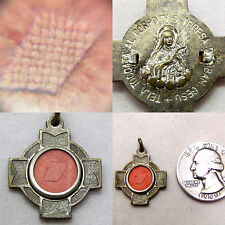 """† BLESSED PRIEST BELT """"TOUCHED TO THE CORPUS TERESA""""  RELIC MEDAL ROSARY GIFT †"""