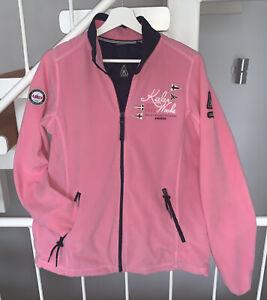 ⚓️Gaastra⚓️Maritime⛵️Damen Fleece Jacke Rosa Pink Blau Weiß L/XL ��️Top Zustand❗️