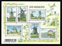 Bloc Feuillet 2010 N°F4485 Timbres France Neufs - Les Moulins