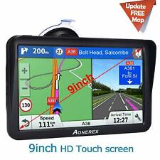 Truck Sat Nav 9 inch GPS Navigation for Car Trucks Lorry Speeding Camera Warning