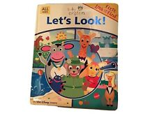 Baby Einstein Let's Look LOOK AND FIND Board Book Oversized Hardcover