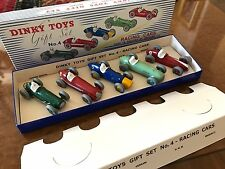 Vintage Dinky Toys / MIB / Grand Prix Car Collection / Gift Set / No. 4-2