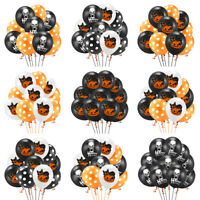 Decorations  Halloween Balloon Festival Supplies Party Decor Orange Black