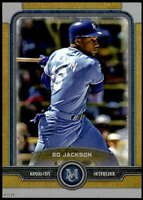 Bo Jackson 2019 Topps Museum 5x7 Gold #46 /10 Royals