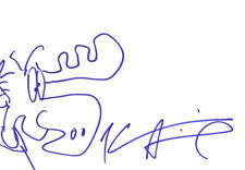 KEVIN SMITH AUTHENTIC AUTOGRAPHED SIGNED DRAWING AFTAL & UACC [11247] PROOF