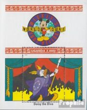 uganda block160 (complete issue) unmounted mint / never hinged 1992 Walt-Disney-