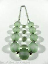 WMF Myra Uranglas Kette ° Collier ° Ikora Era ° art deco art glass necklace