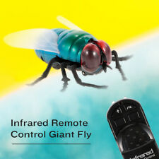Infrared Remote Control Simulation Giant Fly RC Insect Animal Toy Present N7G4