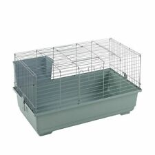 Indoor Rabbit Cage 80cm Silver Single Tier Brand New - Small Pet Guinea Pig