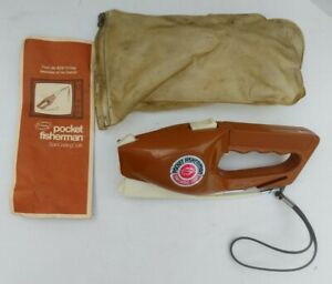 Vintage Popeil's Pocket Fisherman Spin Casting Outfit 1972 With Pouch