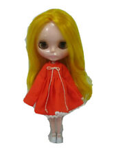 Costume outfit handcrafted long sleeve dress for Blythe Basaak doll 10-5