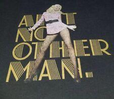 Christina Aguilar Tour 2006 concert T-shirt 2Xl for men 29x26