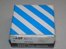 Matsushita ASF60111 12VDC 155mA 60x60x25mm 2 Bare Wire Fan - Made in Japan