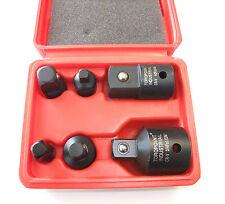 6PC Impact Socket Adaptor & Reducer set Adapter 1/4 1/2 3/8 3/4 Ratchet breaker