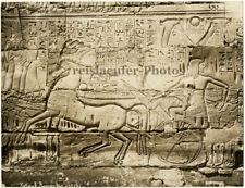 Karnak, Ramses Car by G. Safe, Orig. Photo, ca. 1900