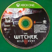 Witcher 3: Wild Hunt (Microsoft Xbox One, 2016) Disc Only 3 14301