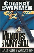 COMBAT SWIMMER: Memoirs of a Navy SEAL by CAPT. R. Gormly 1998 HC 1Ed/1 VIETNAM