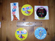 autocollant  collection  LOTO