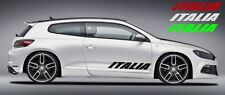 Adesivo Italia Italia Auto Porta Lunotto posteriore Cofano 10x18cm