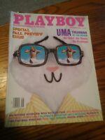 046 Playboy Magazine September 1996 Uma Thurman Nicolas Cage
