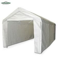 Caravan Canopy Side Wall Kit of Polyethylene Fabric in White For Domain Carport