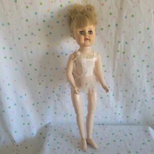 Vintage Doll Marked X~Ballerina Walker & Flex Feet Clone Doll? Eegee Arranbee??