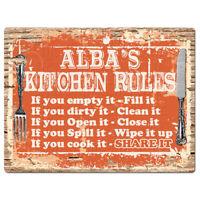 PPKM0889 MARIETTA/'S KITCHEN Rustic Chic Sign Funny Kitchen Decor Birthday Gift