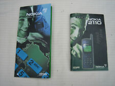 Nokia 2110 User Guide and Connecting People Brochure