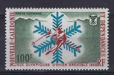 New Caledonia - 1967, Air. Winter Olympic Games, Grenoble stamp - MNH - SG 439