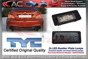 2x BMW E82 E88 E90 E91 E92 E93 F30 F31 LICENSE NUMBER PLATE LED LIGHT OE QUALITY