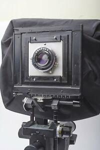 Graflex Crown or Speed Graphic lens board to Sinar adapter + Graflex lens boards