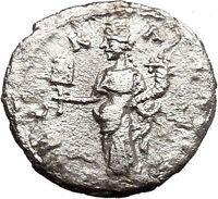 SEPTIMIUS SEVERUS 195AD Emesa Ancient Silver Roman Coin Liberality Cult i23026