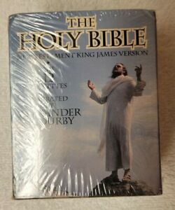 The Holy Bible: KJV New Testament Narrated by Alexander Scourby (Cassette, 1995)