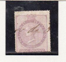 Gran Bretaña Monarquias Valor Fiscal Postal nº 1 del año 1862 (CS-923)