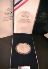 1991 P UNITED STATES MINT KOREAN WAR MEMORIAL SILVER DOLLAR - PROOF - Box / COA