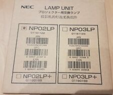 Genuine ORIGINAL NEC NP02LP LAMP WITH COOLING PUMP TO FIT NP40  PROJECTOR -NEW