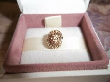 Genuine Authentic Pandora 14ct Gold Feeling Groovy Charm 750421 585 ALE - RARE