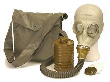 NVA ABC-Schutzmaske M41 Trinkschlauch Atemschutzmaske Gasmaske Maske Neuwertig