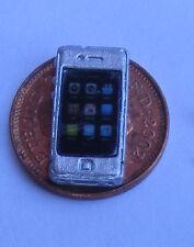 1:12 plata de trabajo no Teléfono inteligente teléfono Casa De Muñecas Miniatura Accesorios