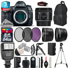 Canon EOS 5D Mark IV Camera + 50mm STM  + 2yr Warranty -Ultimate Saving Bundle