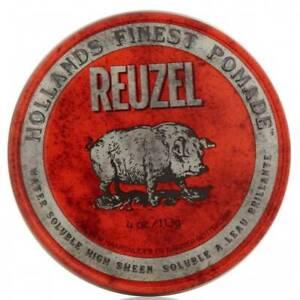 Reuzel Water Soluble High Sheen Pomade 113 g/ 4 oz.