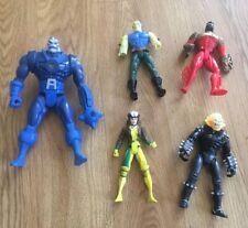 Vintage 1990's Marvel X-Men Super Hero Action Figure DC comics Lot Of 5